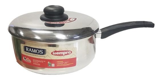 Cacerola Aluminio C/ Mango 22 Cms Ramos