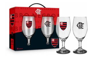 Conjunto 2 Taças Windsor Clubes Flamengo