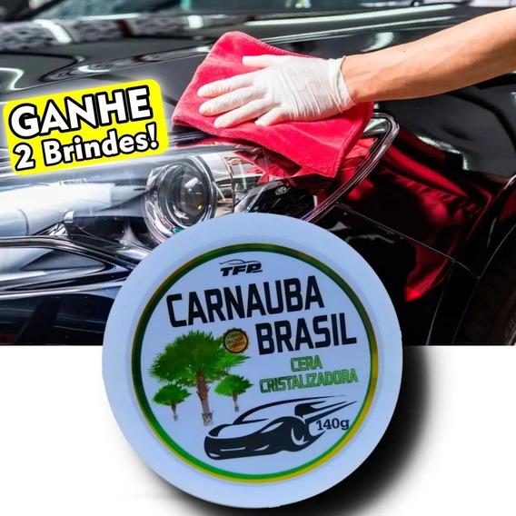 Cera Espelhamento De Carnaúba Automotiva Carro Preto Oferta