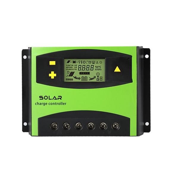 Controlador De Carga Painel Solar 60a Regulador 12v 24v