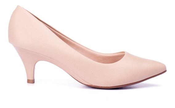 Zapatos Stiletto Mujer Taco Bajo Pie Delicado Massimo Chiesa
