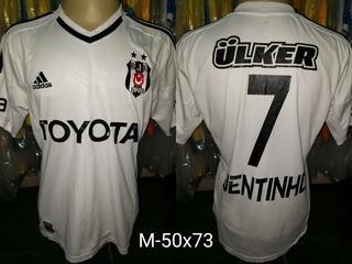 Camisa Besiktas adidas Toyota Titular 2012/2013 #7 Dentinho