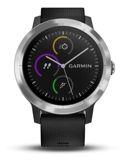 Relógio Smart Watch Garmin Vívoactive 3 Preto E Cinza A11882