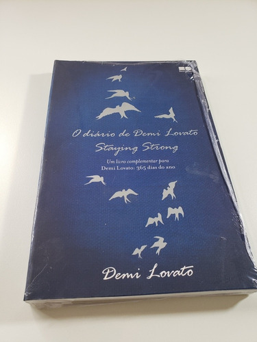 Livro - O Diário De Demi Lovato - Novo - Lacrado