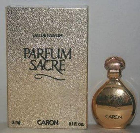 Miniatura De Perfume: Caron - Parfum Sacré - 3 Ml - Edp