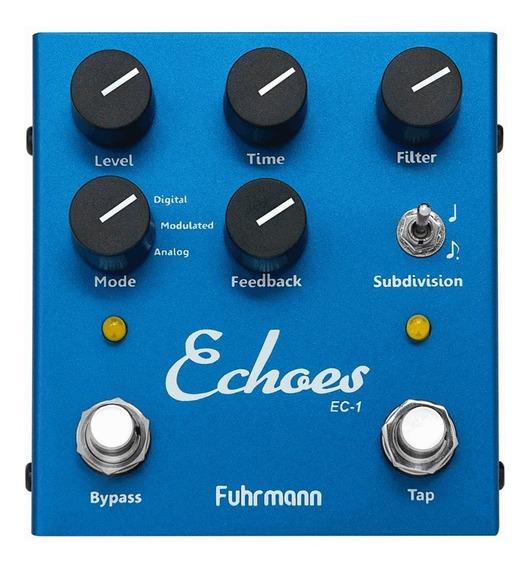Kit 3 Pedais Fuhrmann Reverb + Echoes + Myth Off Tones Fg