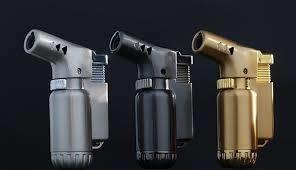 Soplete Encendedor Mini A Gas Recargable Metalico