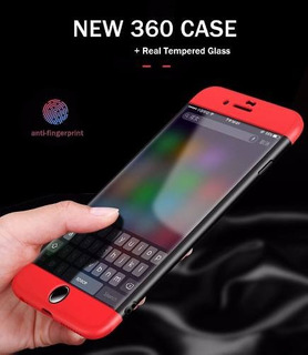 6 Capinha Celular iPhone 7 Plus Corpo Inteiro+película