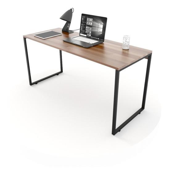 Mesa Para Escritório Diretor Estilo Industrial 150cm Madeira
