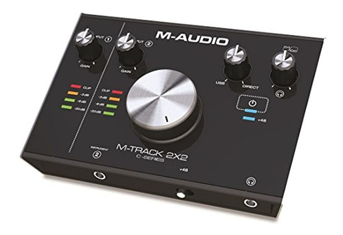 M Audio M Pista 2x2   Interfaz De Audio Usb De 2 Entradas /