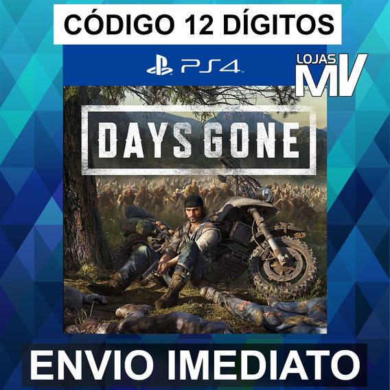 Days Gone Ps4 - Código De 12 Digitos Br