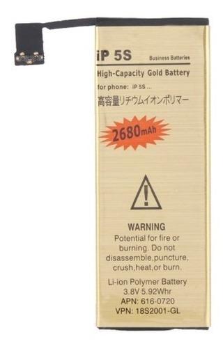 Batería Premium Larga Duración iPhone 5s 2680mah+herramienta