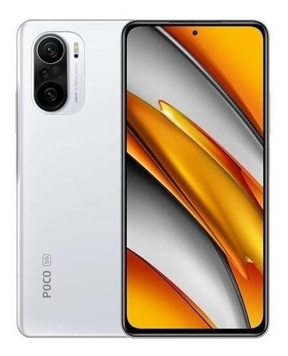 Imagen 1 de 5 de Xiaomi Poco F3 5G Dual SIM 256 GB blanco ártico 8 GB RAM