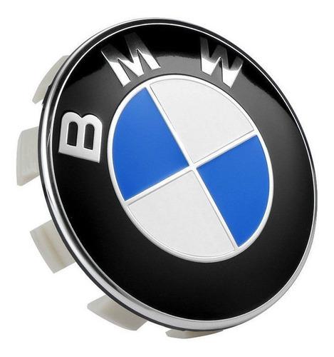 Imagen 1 de 3 de Emblema Logo Tapa Aro Bmw Clasic Blue Nuevas!