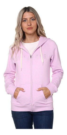 Buzo Campera Billabong Billy Pop Zip Hood Mujer - 12108610