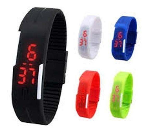 Relógio Led Fitness Para Academia Corrida Esporte Promoçã