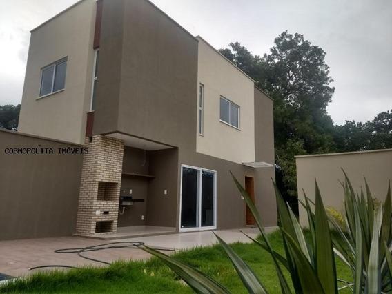 Casa Em Condomínio Para Venda Em Teresina, Morros, 4 Dormitórios, 4 Suítes, 4 Banheiros, 2 Vagas - Casa Jardim Dos Morros
