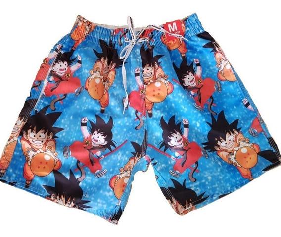 Shorts De Tactel Praia Verão Bermuda Masculina Unidade