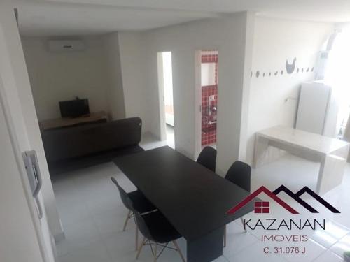 Apartamento 1 Dormitório - Gonzaga - Santos - 1164