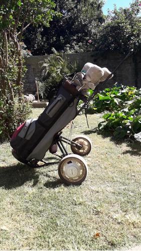 Bolso De Golf Con Palos Ping,callaway Y T Line.
