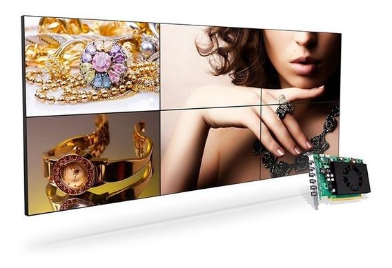 Matrox 4k 6/10/12 Monitores Videowall, Proj. Mapeada Bovespa