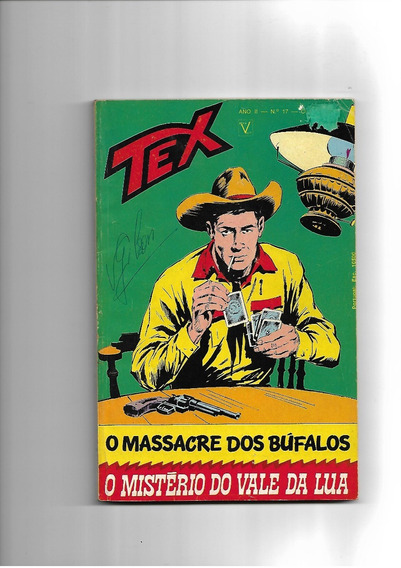 Tex - N.17 - O Massacre Dos Búfalos - Vecchi -
