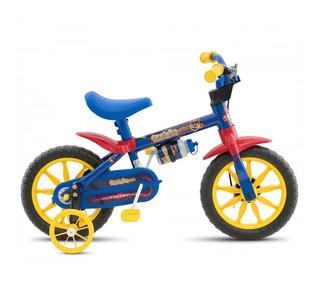 Bicicleta Fischer Ferinha Aro 12 - Azul