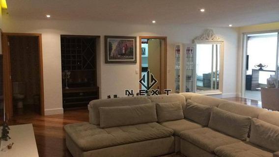 Apartamento Com 3 Suites À Venda, 228 M² No Condomínio Edifício Boulevard Tamboré - Alphaville - Sp - Ap0242