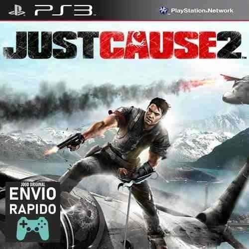 Just Cause 2 - Jogos Ps3 Original