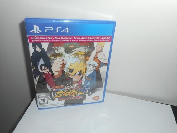 Naruto Ultimate Ninja Storm 4 Road To Boruto Ps4 Física Novo