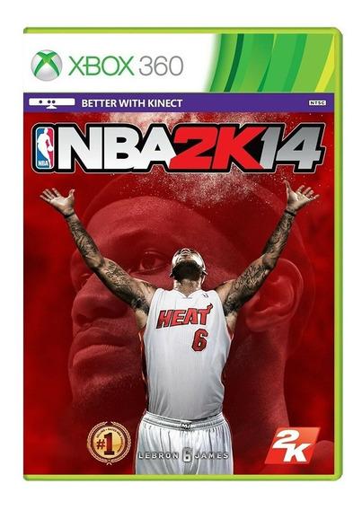 Nba 2k14 - Xbox 360 - Usado - Original - Mídia Física