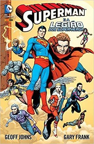 Superman E A Legião Dos Super-heróis - Lacrado Novo