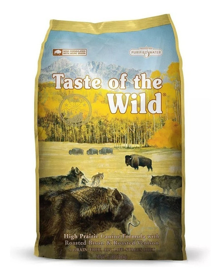 Taste Of The Wild High Prairie Canine Bisonte 12.7 (28 Lb)