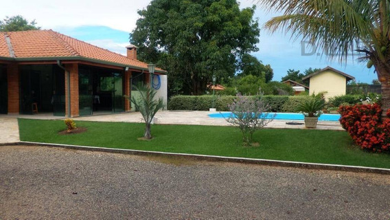 Chácara Com 2 Dormitórios À Venda, 1812 M² Por R$ 640.000 - Loteamento Chácaras Vale Das Garças - Campinas/sp - Ch0345