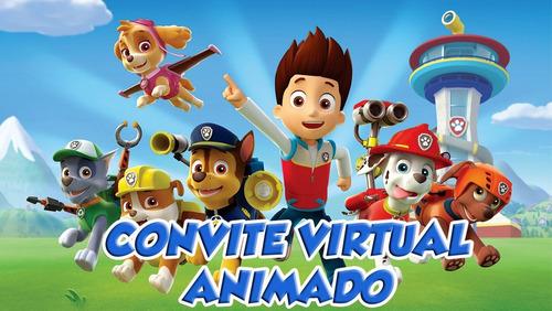 Imagem 1 de 4 de Vídeo Convite Virtual Para Celular, Whatsapp, Aniversário