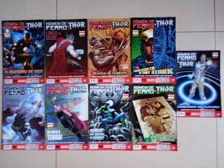 Homem De Ferro & Thor -nova Marvel, 9 Gibis (5 A 14) Panini