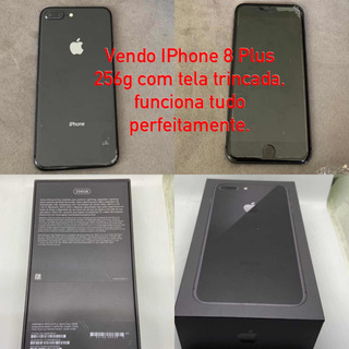 iPhone 8 Plus 256 G De Memória Black