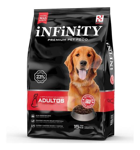 Alimento Perros Adultos Infinity Premium 15 Kgs