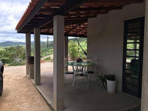 Imagem 1 de 4 de Chácara Com 1 Dormitório À Venda, 1408 M² Por R$ 307.400 - Santa Joana - Santa Branca/sp - Ch0599
