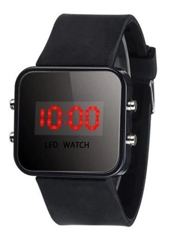 Relógio Infantil Masculino Led Digital Esportivo C\ Brinde