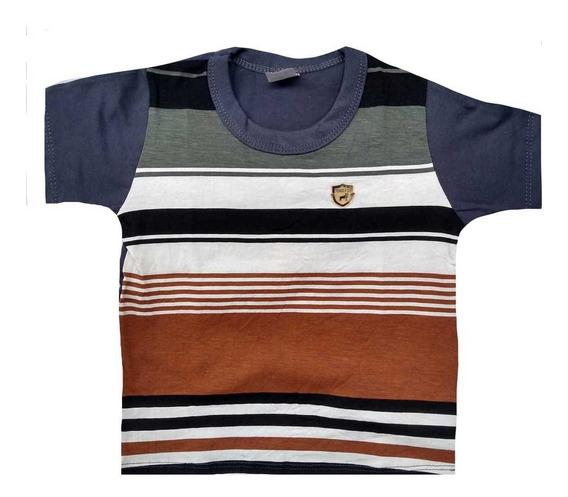 Kit Atacado C/10 Camiseta Camisa Infantil Menino