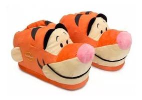 Pantufa 3d Tigrão Pooh Ricsen