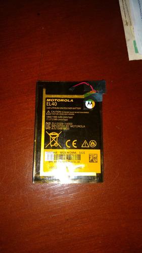 Bateria Para Motorola E Primera Generación