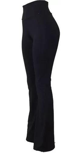 Calça Bailarina Flare Suplex Liso Cintura Alta Promoção Melhor Valor!!