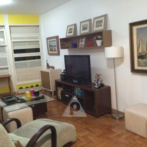 Apartamento À Venda, 3 Quartos, 1 Suíte, 1 Vaga, Copacabana - Rio De Janeiro/rj - 13764