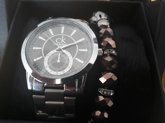 Relógio Feminino Calvin Klein + Pulseira