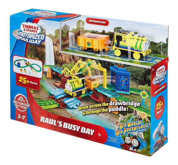 Thomas E Friends Motorized Railway Trabalho Do Raul Fpw36