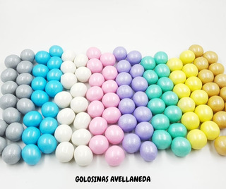 Chicles Bolon Perlados X Color 400 Grms Ideal Candy Bar
