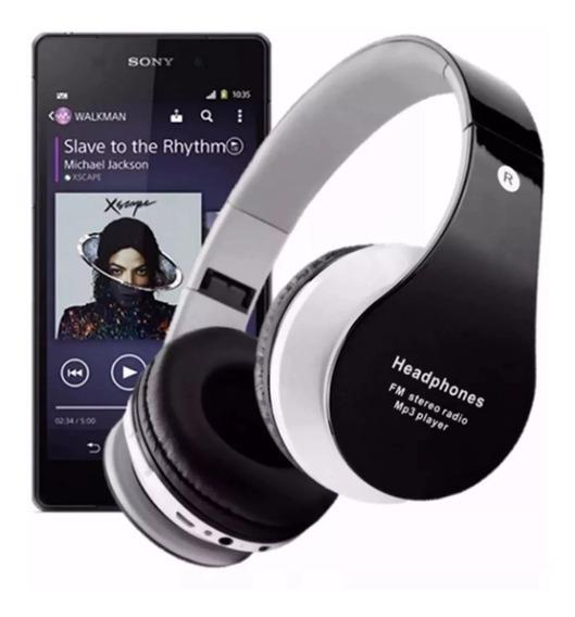 Fone De Ouvido Bluetooth Headphone Cartão Micro Sd Universal