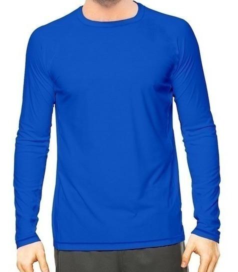 Kit 3 Camisa Térmica Uv Praia Fps 50 Compressão 037